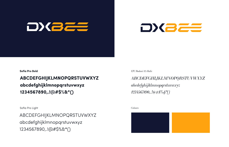 DXBee Media branding