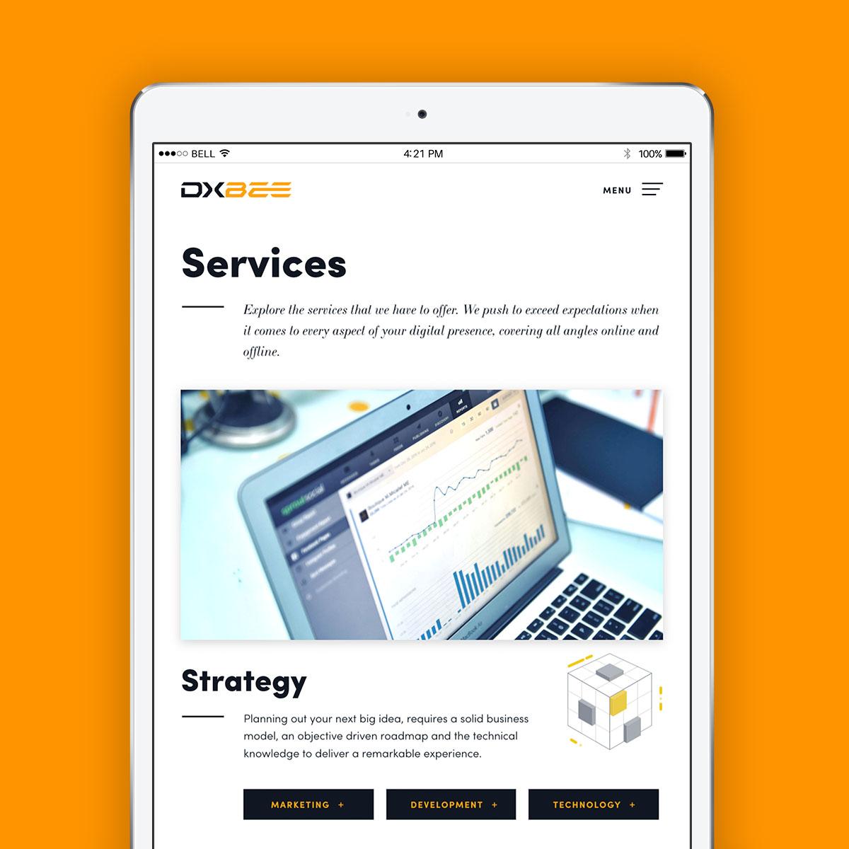 DXBee Media website