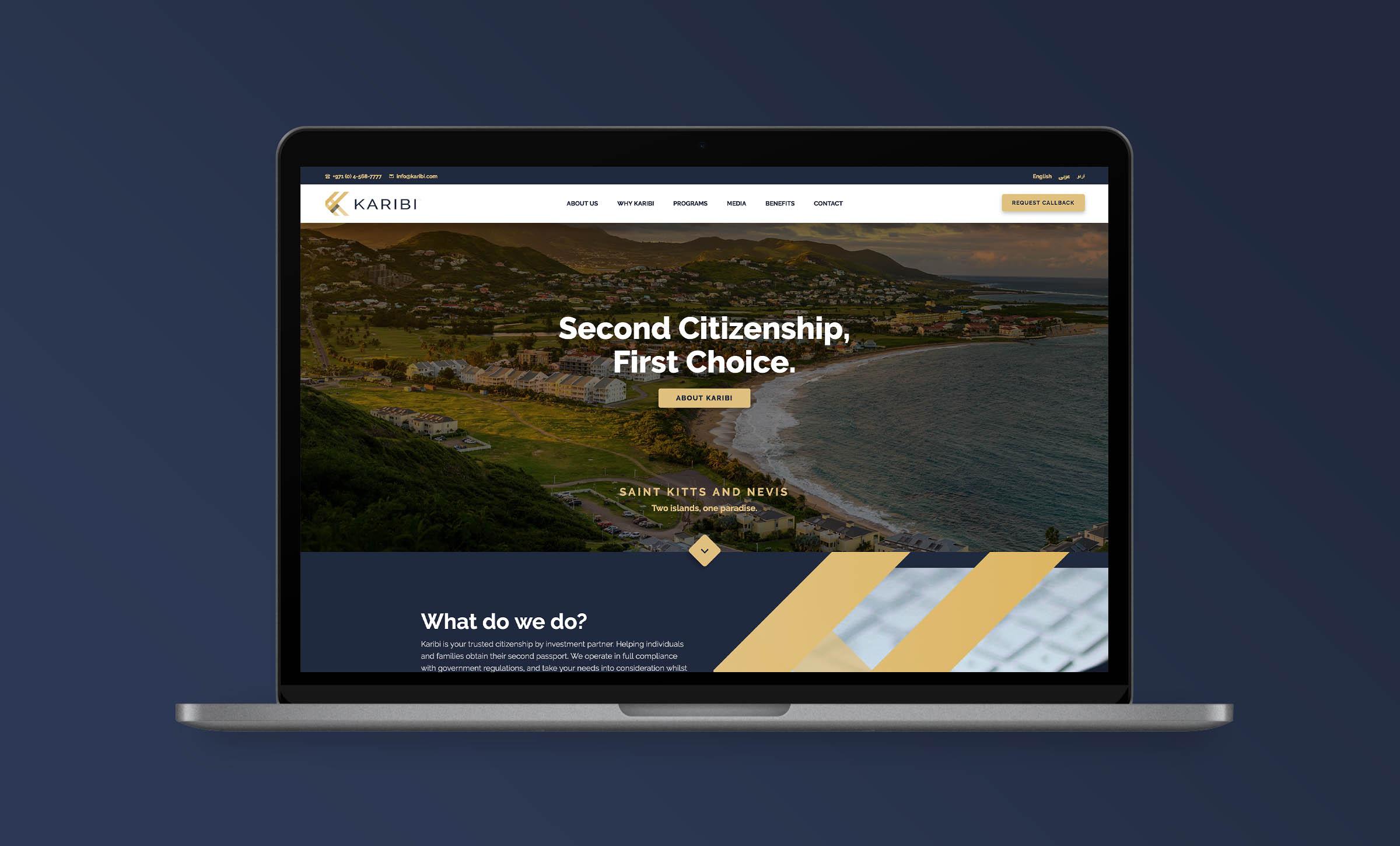 Karibi website